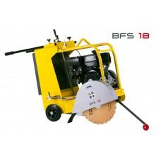 Wacker Neuson BFSX 18D Floor Saw 16in & 18in blades